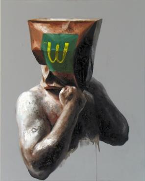 """Xavier Jallais - """"Automorphie au sac McDo"""", 2012"""