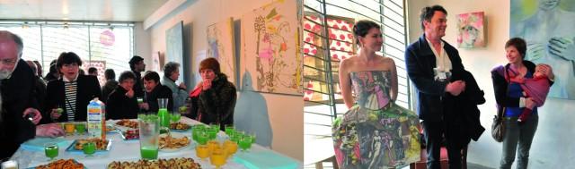 Galerie ER - Expo Avril Mai 2013 Charlotte Combe et Keith Donovan - Photos vernissage 2