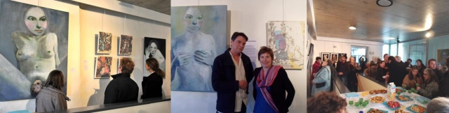 Galerie ER - Expo Avril Mai 2013 Charlotte Combe et Keith Donovan - Photos vernissage 1